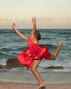 Sarah on Beach-12