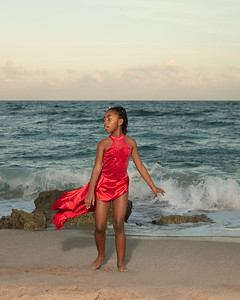 Sarah on Beach-9