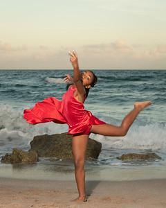 Sarah on Beach-15