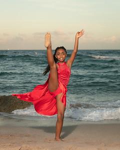 Sarah on Beach-13