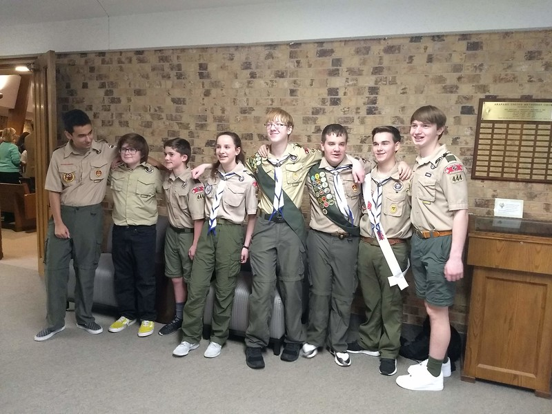 Scout Sunday at AUMC