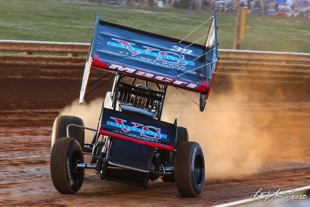 Jan Opperman/Dick Bogar Memorial - 2020 Pennsylvania Sprint Car Speed Week presented by Red Robin - Selinsgrove Speedway - 39M Anthony Macri