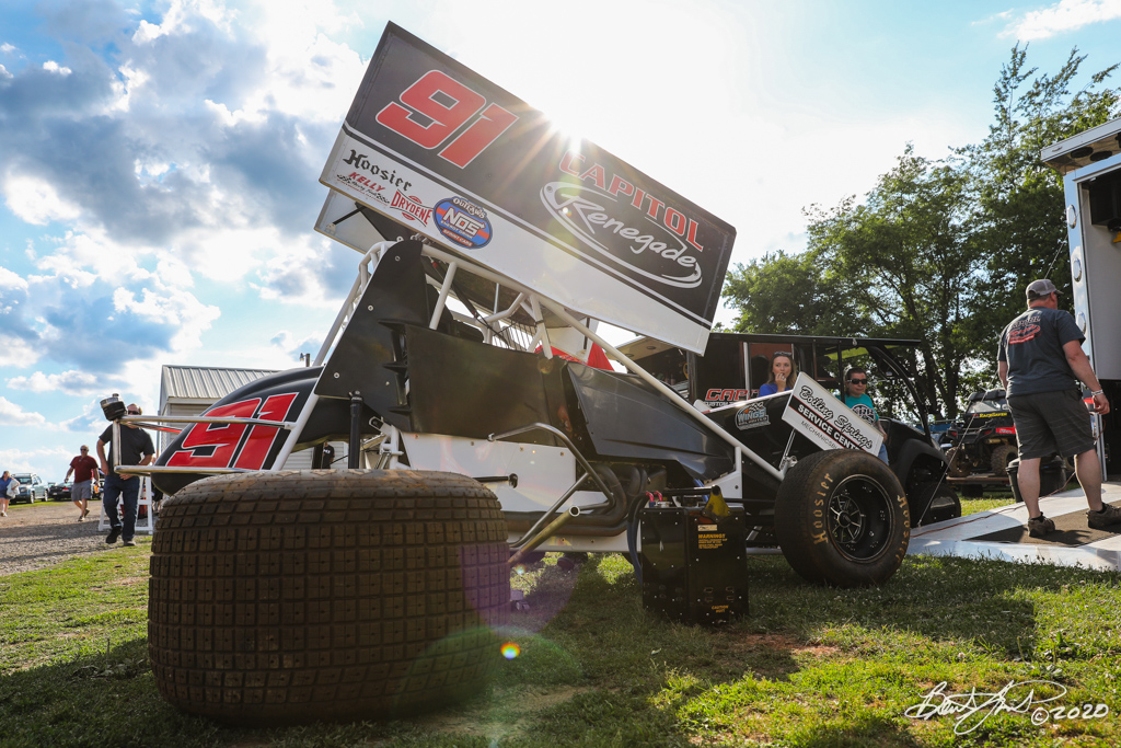 Jan Opperman/Dick Bogar Memorial - 2020 Pennsylvania Sprint Car Speed Week presented by Red Robin - Selinsgrove Speedway - 91 Kyle Reinhardt