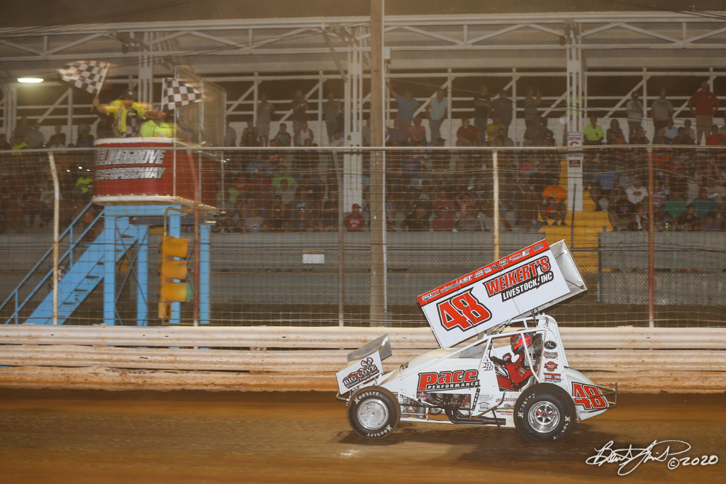 Jan Opperman/Dick Bogar Memorial - 2020 Pennsylvania Sprint Car Speed Week presented by Red Robin - Selinsgrove Speedway - 48 Danny Dietrich