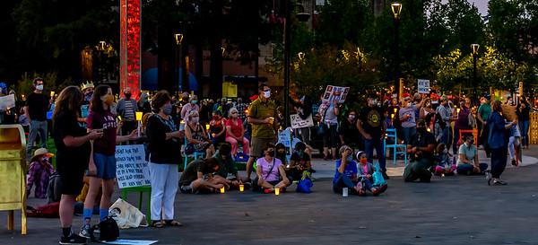 RGB vigil  Santa Rosa  © Bill Clark-47