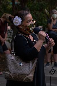 Candlelight Vigil for RBG - Walnut Creek, CA