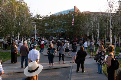Candlelight Vigil for RBG - Walnut Creek, CA