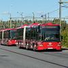 SL (Transdev) articulated Scania Citywide SAU96S 0473 at Märsta station on route 471 to Arlandastad, 19.09.2020.