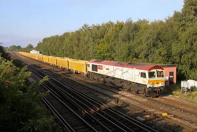 66721 Worting Junction 21/09/20 6M26 Eastleigh to Mountsorrel