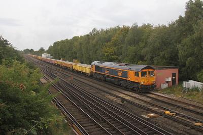 66723 Worting Junction 23/09/20 6Y48 Eastleigh to Hoo Junction