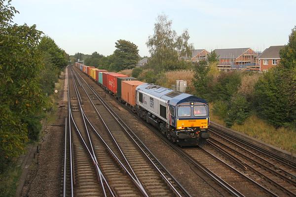 66780 Worting Junction 18/09/20 4O69 Hams Hall to Southampton Western Docks