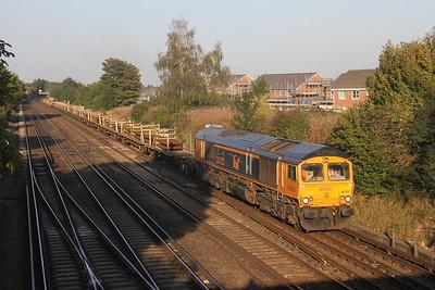 66723 Worting Junction 21/09/20 6Y42 Hoo Junction to Eastleigh