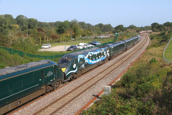 802020 Hungerford 17/09/20 1A84 Penzance to London Paddington with 802004
