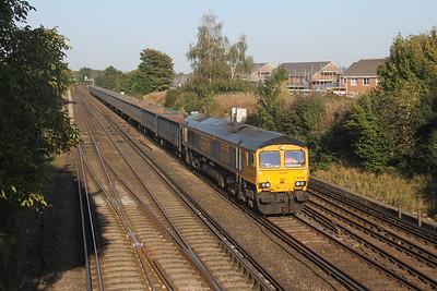 66704 Worting Junction 21/09/20 4Y19 Mountfield to Southampton Western Docks
