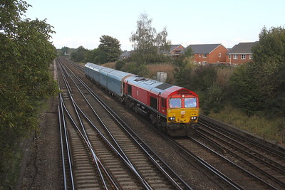 66185 Worting Junction 29/09/20 4O38 Didcot T.C. to Southampton Western Docks