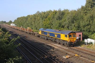 66723 Worting Junction 21/09/20 6Y48 Eastleigh to Hoo Junction