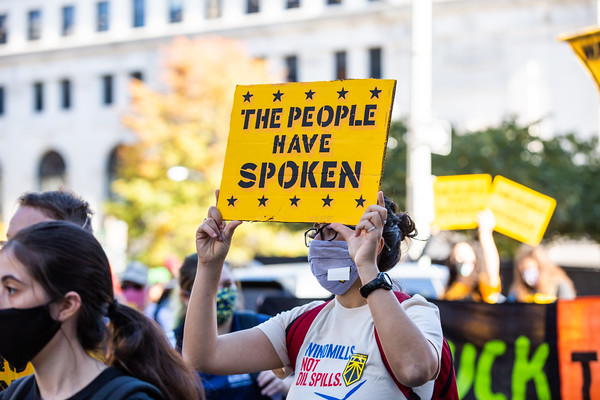 Shut Down DC, November 4