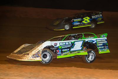 Tyler Erb (1) and Kyle Strickler (8)