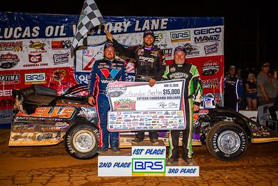 Brandon Sheppard (L), Brandon Overton (C) and Jimmy Owens (R)