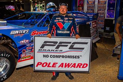 PFC Brakes Pole Award winner Brandon Sheppard