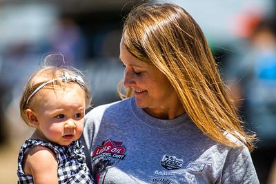 Amanda Francis and daughter Adley