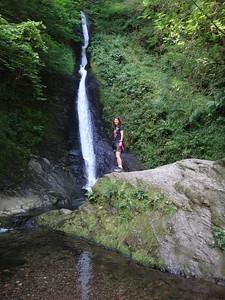 White Waterfall