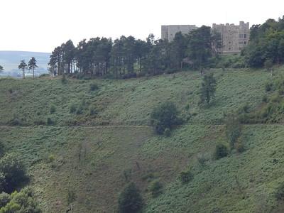 Later, we arrived at Castle Drogo!