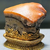 National Palace Museum - banded jasper stone carved to look like cooked pork belly