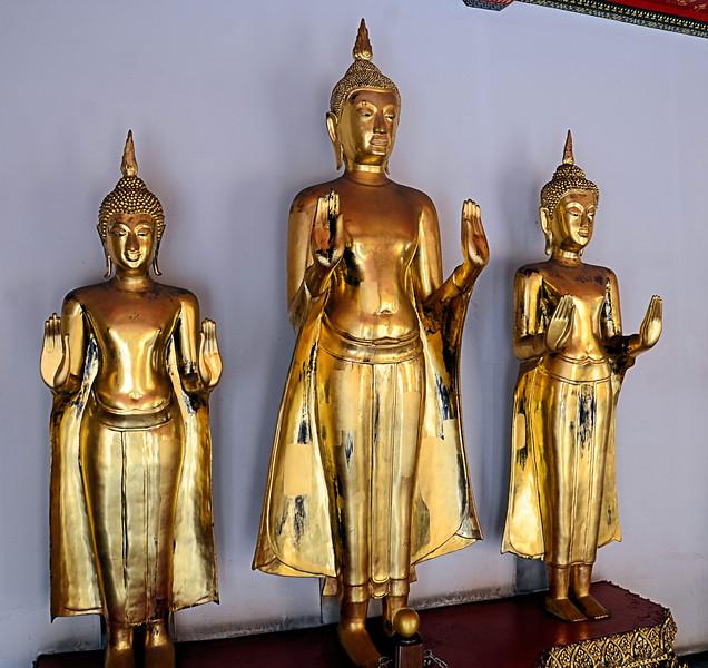 Buddha statues at Wat Pho