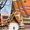 Roof lines at Wat Pho