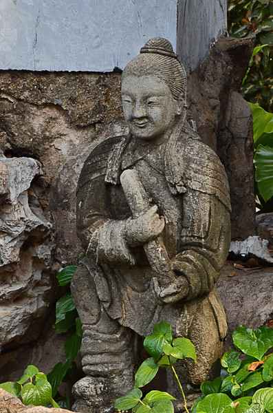 Chinese sculpture in the courtyard of Wat Pho