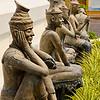 Statues at Wat Pho