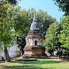 Stupa near Three Kings Statue