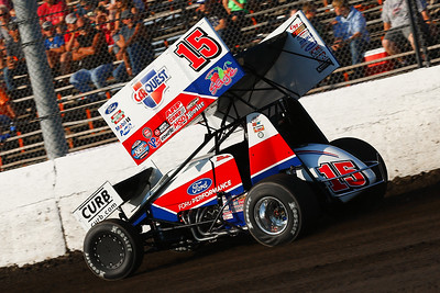 World of Outlaws Sprint Cars at Tri-State