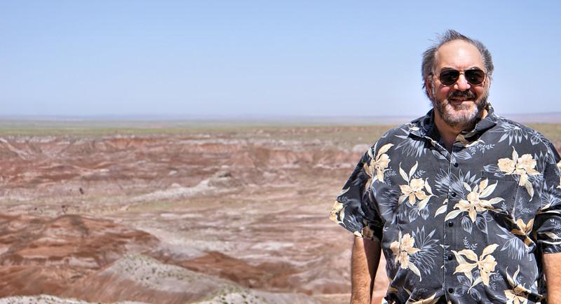 William at the Painted Desert