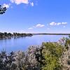 Missouri River on the way to Washburn