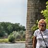 Anne near the Missouri River