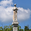 Confederate Soldiers Monument in the Franklin, Tennessee town square