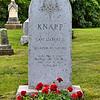 Grave of Gilbert Knapp, founder of Racine