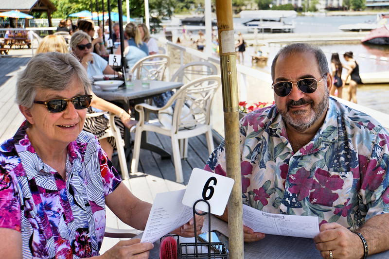 Lois and William at Lindy's Landing