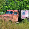 Old truck along the Covered Bridge Trail