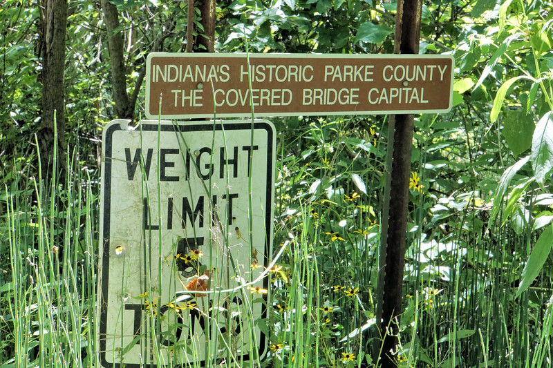 Parke County - Covered Bridge Trail Sign