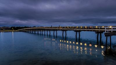 Cunninghame Arm Foot-Bridge - Lakes Entrance