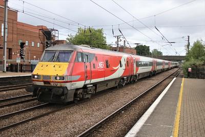 82211-91119 0946/1Y14 York to Kings Cross