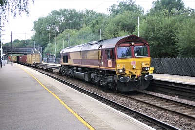 66176 passes Bayford 1108/4M79 diverted Felixstowe to East Midlands Gateway