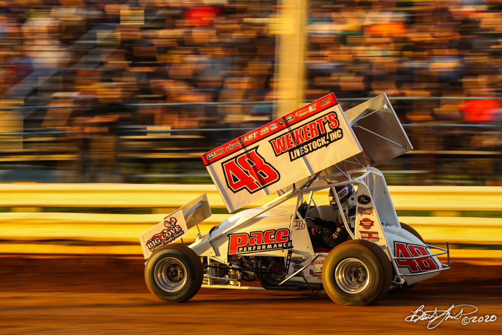 2020 Pennsylvania Sprint Car Speed Week presented by Red Robin - Williams Grove Speedway - 48 Danny Dietrich
