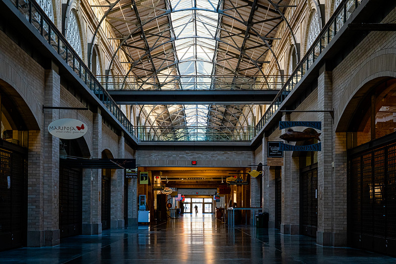 Empty Ferry Building
