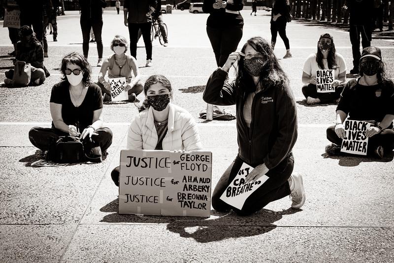 Black Lives Matter Protest, San Francisco Civic Center