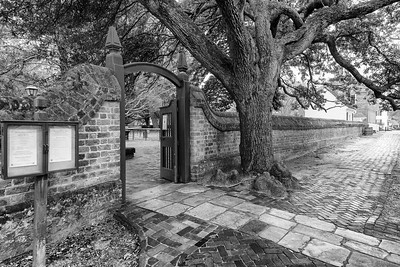 Bruton Parish Gate, Colonial Williamsburg