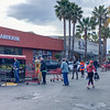 Trader Joes metering shoppers after opening - Greenbrae CA